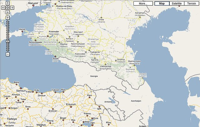 Google Maps does not include country details for Georgia | Flickr