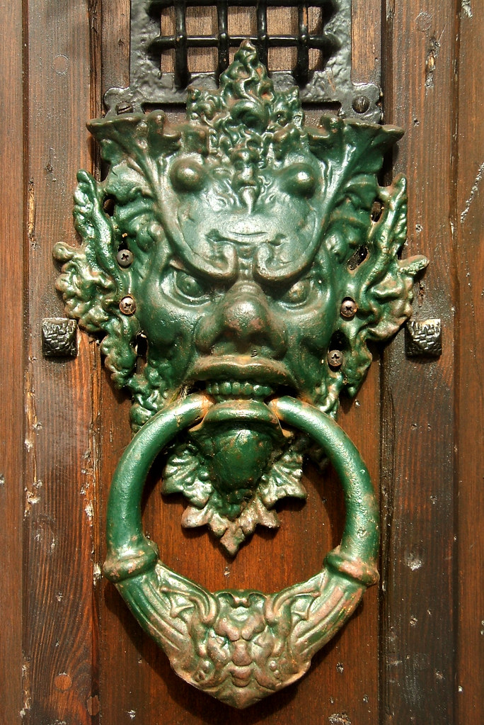 Needful Things - Door Knocker | Ornate door knocker of ...