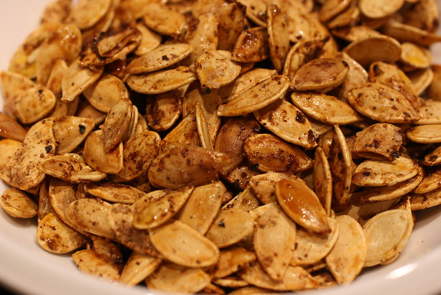 Moroccan Spiced Pumpkin Seeds | Explore FoodMayhem.com's pho ...