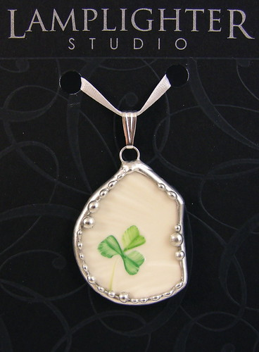 Belleek Shard Jewelry | by IrishFireside