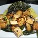 basil-crispy tofu with rice