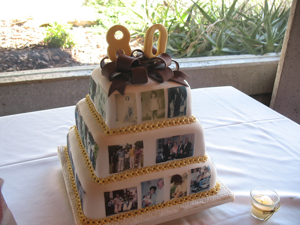 Grandmother Birthday Cake