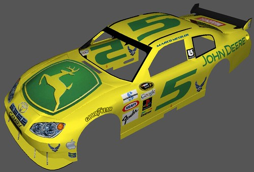 john deere number 5 car for nascar 09 this is my first