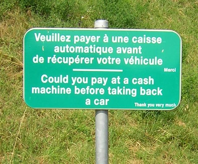Carcassonne France Car Parking