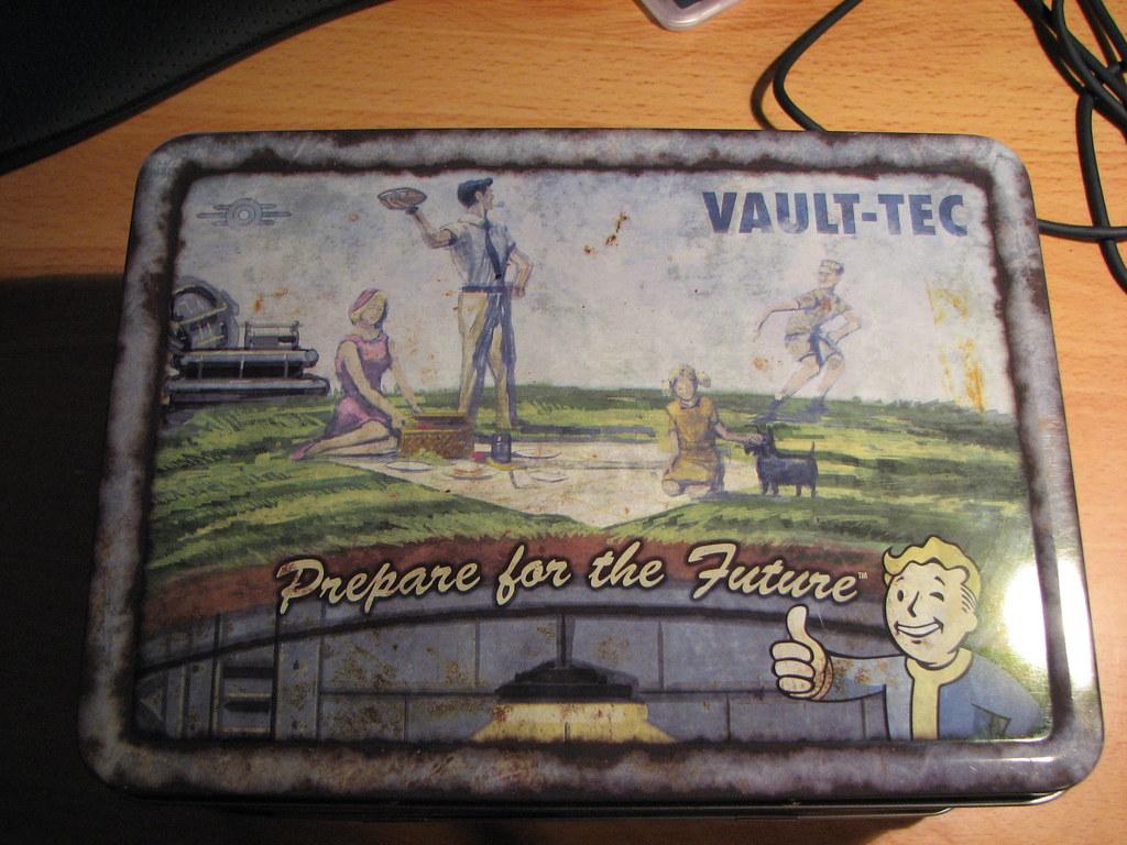 Fallout ланч бокс своими руками 94