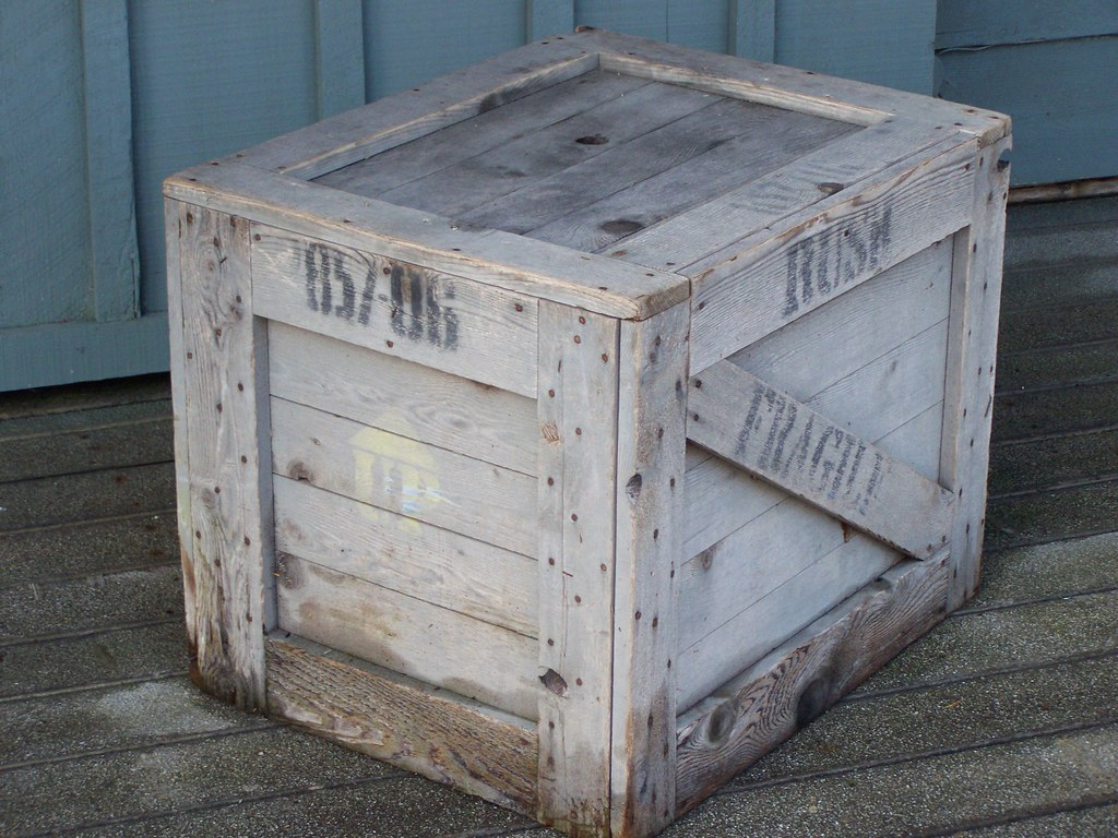 old shipping crate dustin holmes flickr