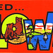 Yellowstone National Park - We Visited - Bumper Sticker - 1970s