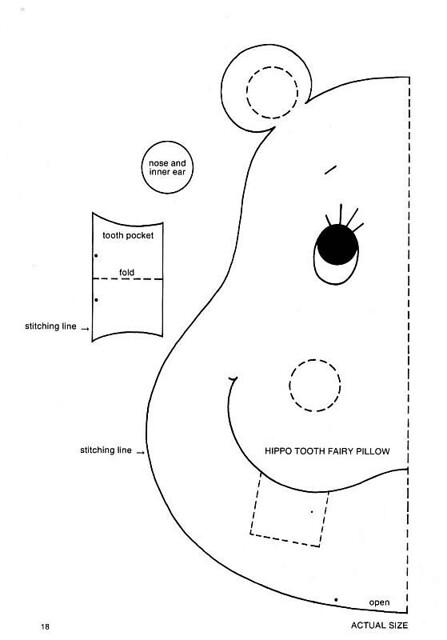 Hippo Appliqu 233 Pattern 4 From Scrap Saver S Stitchery