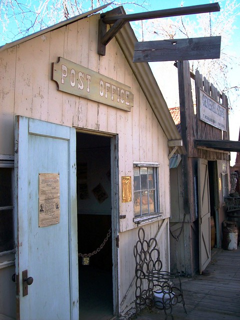 Post Office At Corlew 39 S Silver City In Bodfish Ca