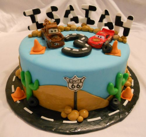 Disney Cars Cake 1 Disney Cars themed Cake Delivery 2 ...