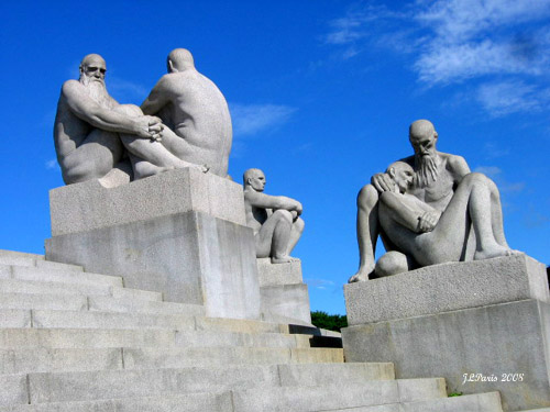 Norway Oslo Frogner Park Vigeland Sculpture Garden Flickr