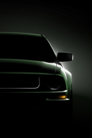 Ford Mustang Bullitt iPhone Wallpaper | Flickr - Photo Sharing!