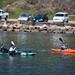 Fishermen Kayakers in Morro Bay