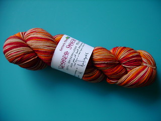 vesper sock yarn antigone | by katie:m