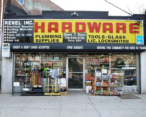 hardware stores: