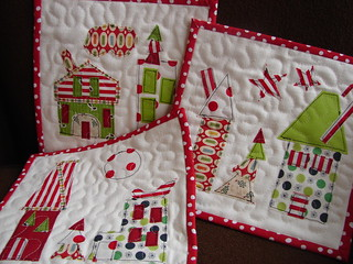 little christmas quilts | by Jacquie G
