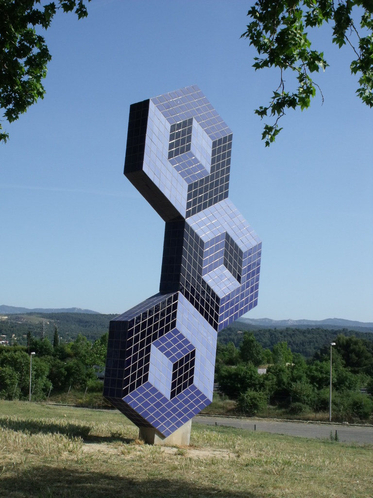Foundation Vasarely - Aix-en-provence