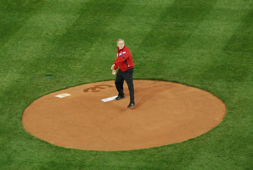 President Bush on the mound | by afagen