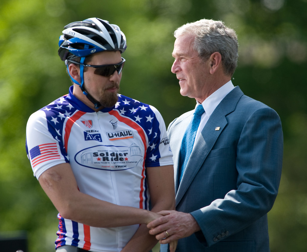 washington, d.c. - President George W. Bush speaks to a ...