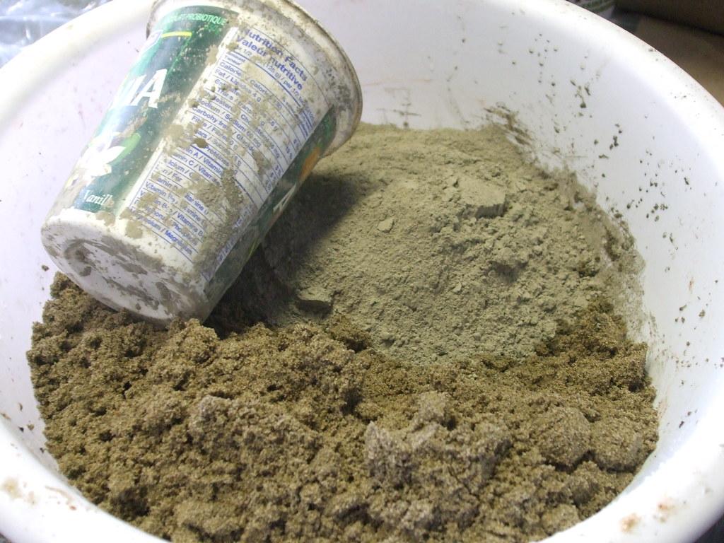 concrete mix the concrete mix is 2 parts sand 1part. Black Bedroom Furniture Sets. Home Design Ideas
