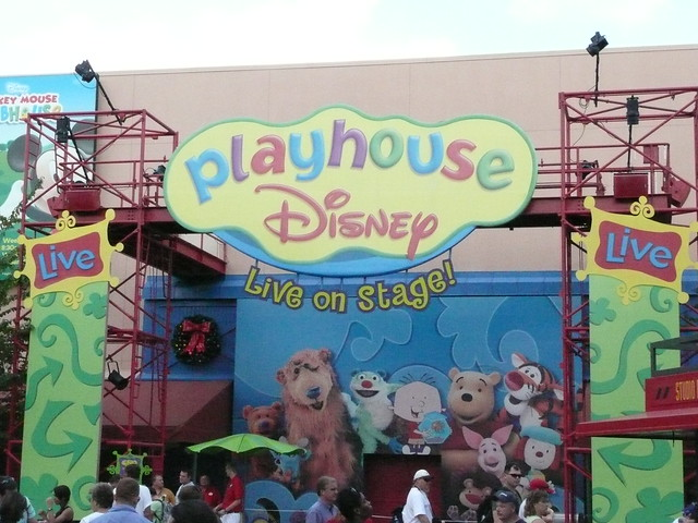 The entrance to Playhouse Disney Live on Stage! | Flickr ...