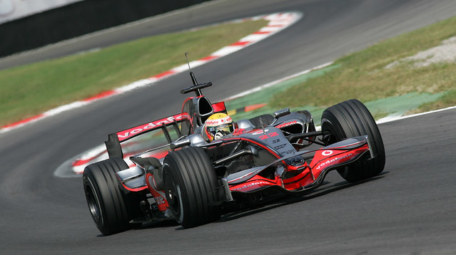Lewis Hamilton Vodafone Mclaren Mercedes Test F1 Monza Ago