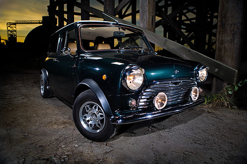 '67 Mini Cooper | by Darien Chin