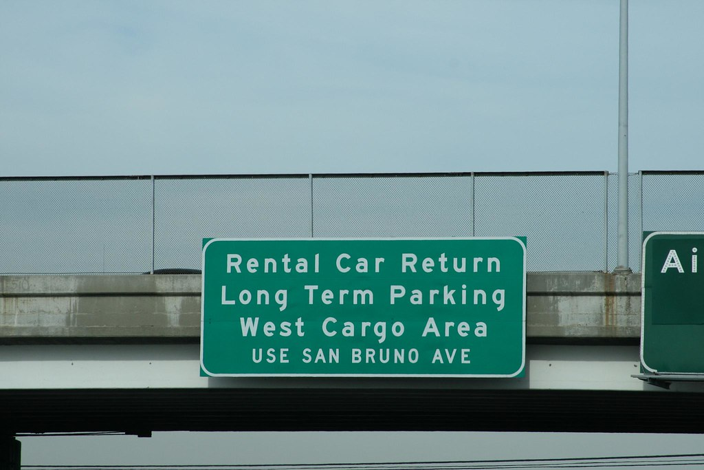 route 101 silicon valley sfo rental car return do not u flickr. Black Bedroom Furniture Sets. Home Design Ideas