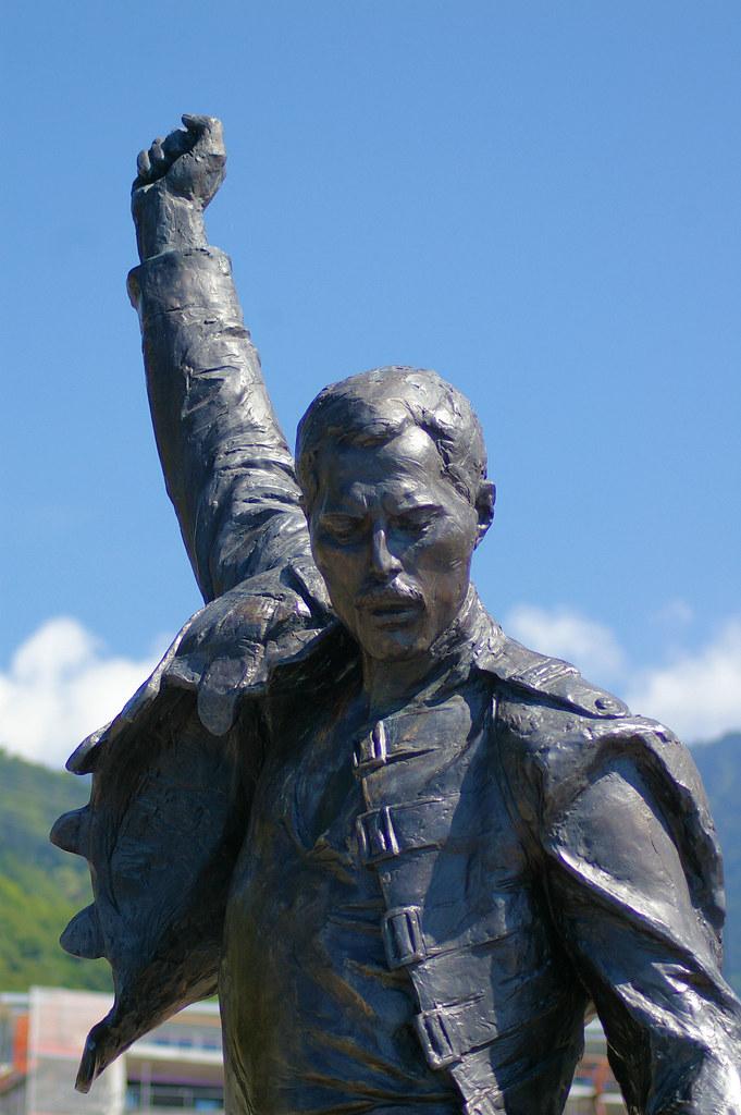 Freddie Mercury statue...