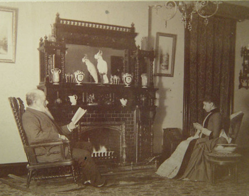 By the fire 1890's | gaswizard | Flickr