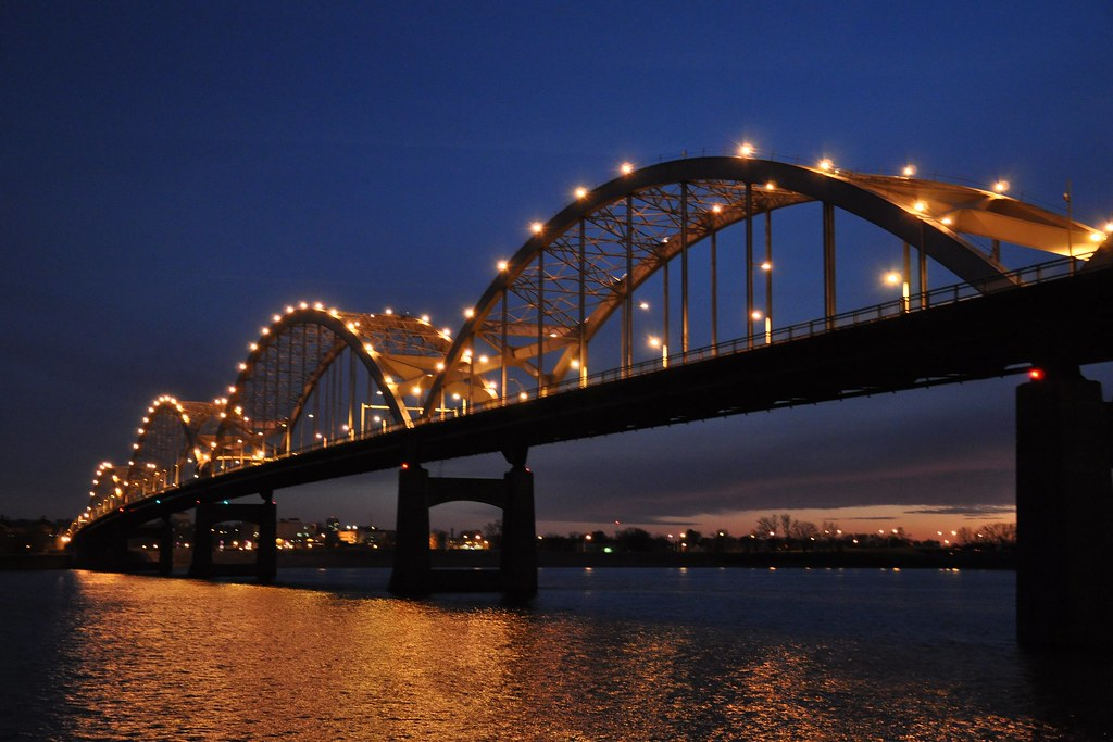 Iowa Cities On The Mississippi River