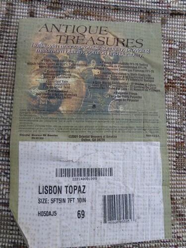 Antique Treasures Rug Lisbon Topaz 150 Chica Reeree