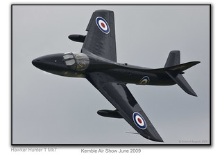 Hawker Hunter T7 | by Roland Bogush