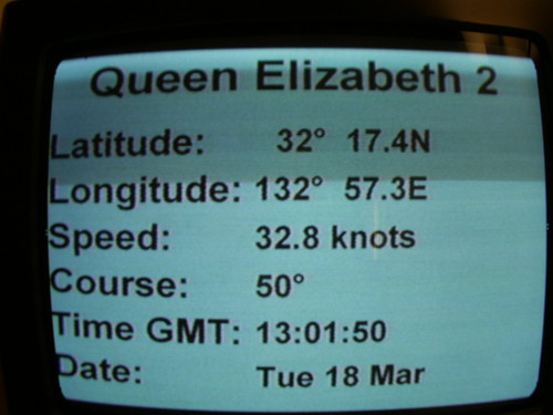 QE2 at 32.8 knots (the fastest liner in the world still has it) | by Rob Lightbody