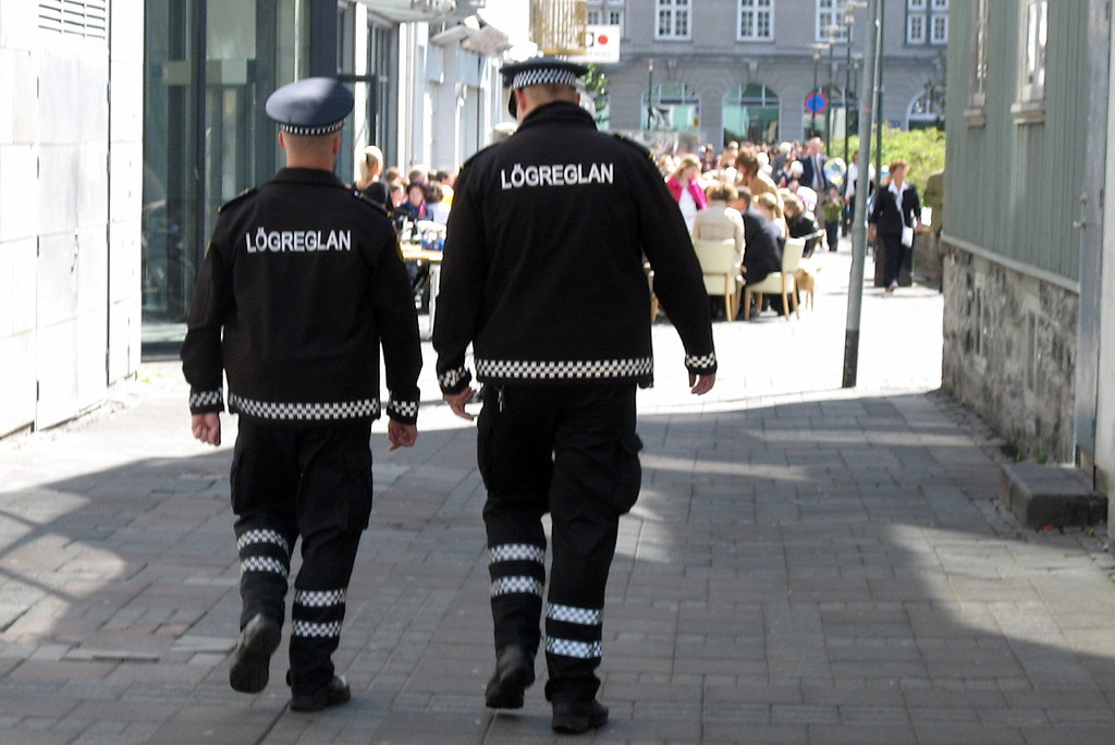 Icelandic Police Officers They Looked Like They Were