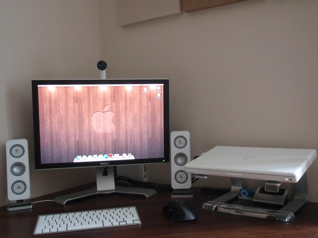 Macbook Desk Setup My Mac Desk Setup New I Have Now