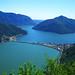 Lago di Lugano (verso Melide)