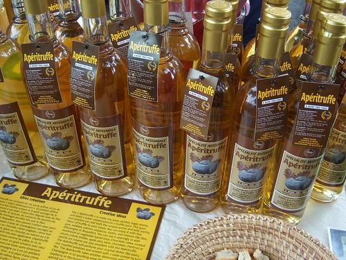 Aperitruffe Truffle Liqueur at Dieulefit Market