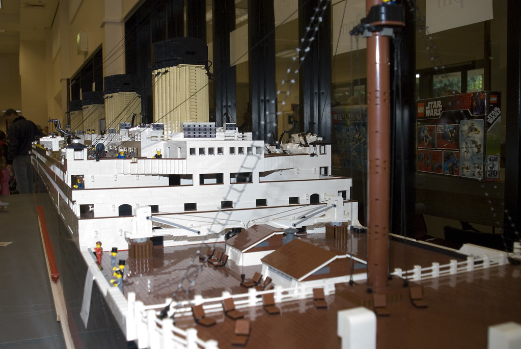 Bricks For Sale >> Lego Titanic Forecastle | This RMS Titanic model is entirely… | Flickr