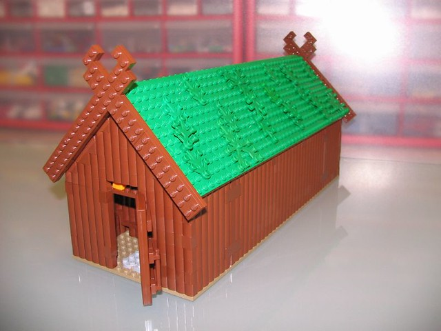 A Hut for The Poor Viking from Set 7015: A LEGO® creation by Bent ...