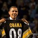 President Obama likes the Steelers