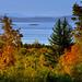 Lake Champlain from Shelburne Farms , Vermont