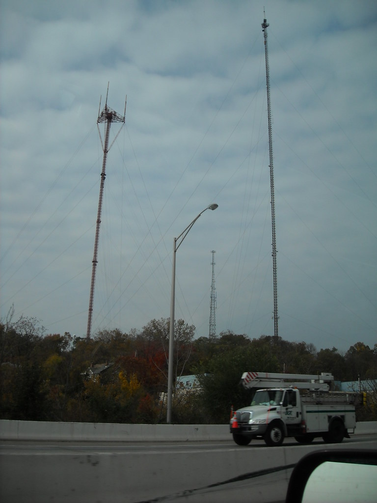 Baltimore Radio And Tv Towers Television Hill Woodberry