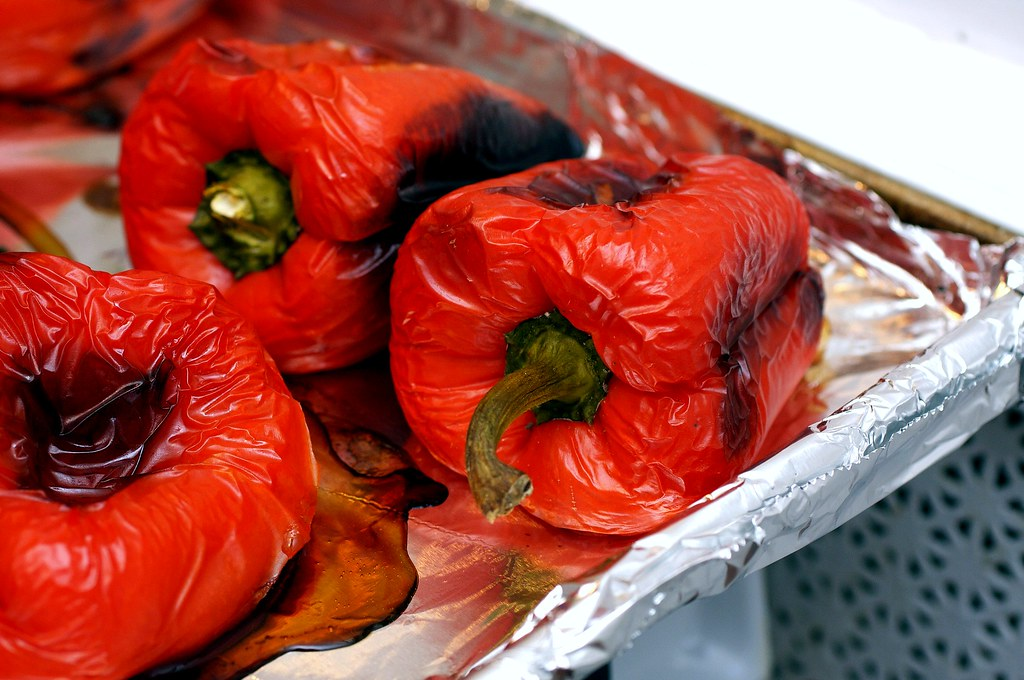 roasted red pepper | Peel slowly and see? Chickpea Salad ...