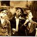 Lewis Hine: Newsies smoking at Skeeter's Branch, St. Louis, 1910
