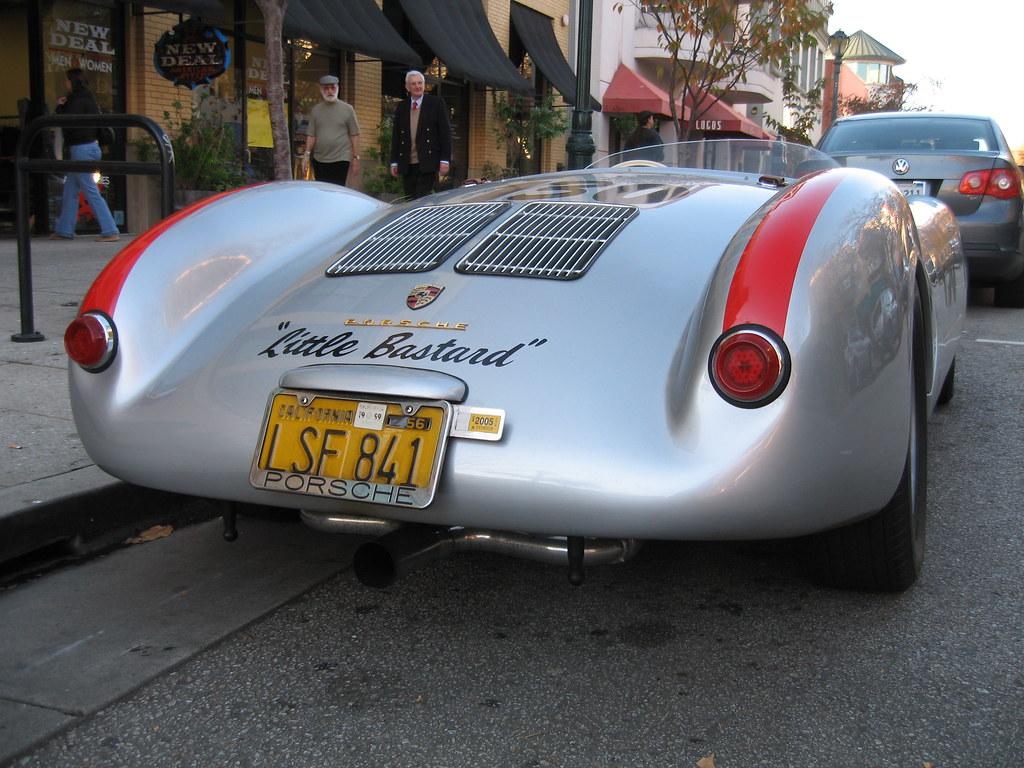 Porsche 550 Spyder A Replica Of James Dean S Porsche
