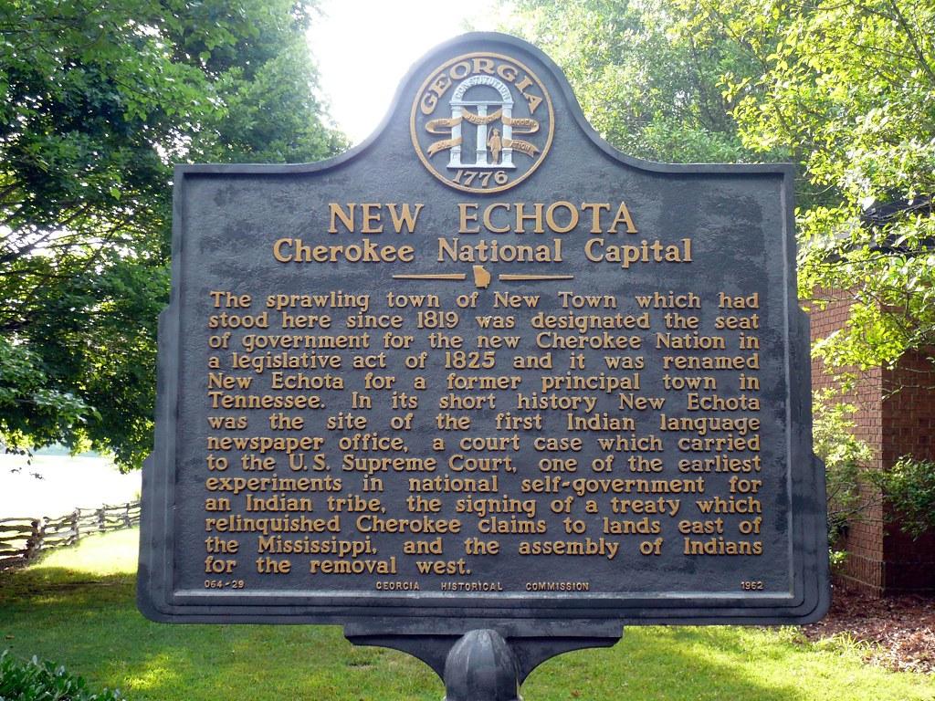 New Echota Cherokee National Capital