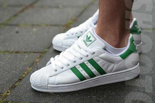 Superstar White/green |