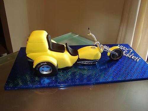 Trike Birthday Cake