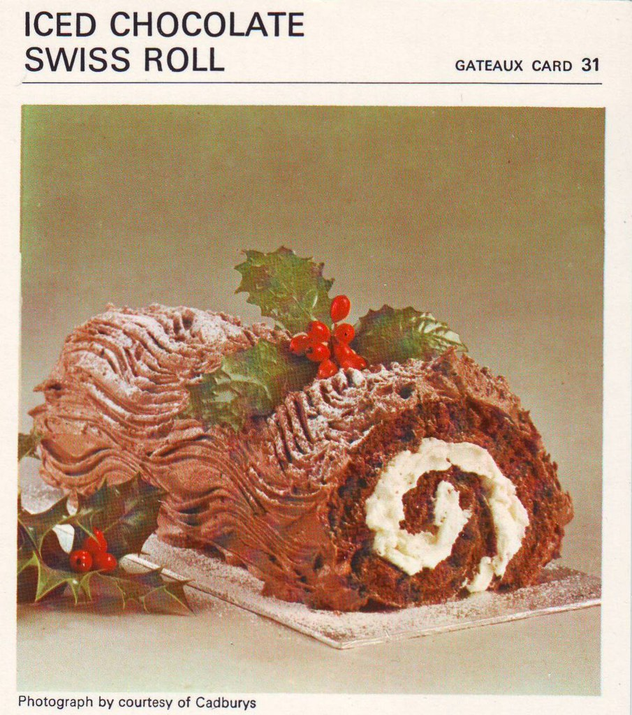 Chocolate Swiss Roll Cake Recipe Uk